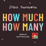 İngilizce Ders Sunumu: How Much, How Many