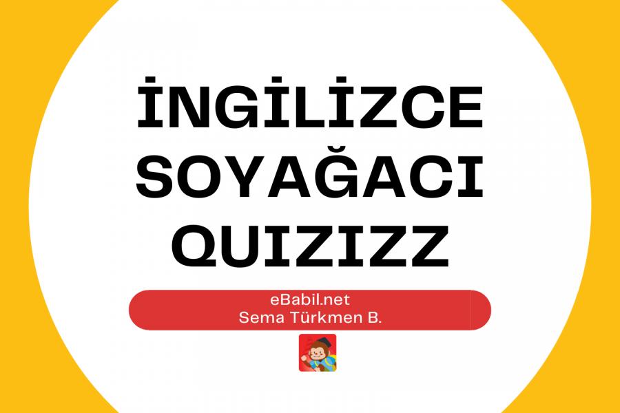 Kelime Oyunu (Quizizz): İngilizce Aile Üyeleri (Family Members)