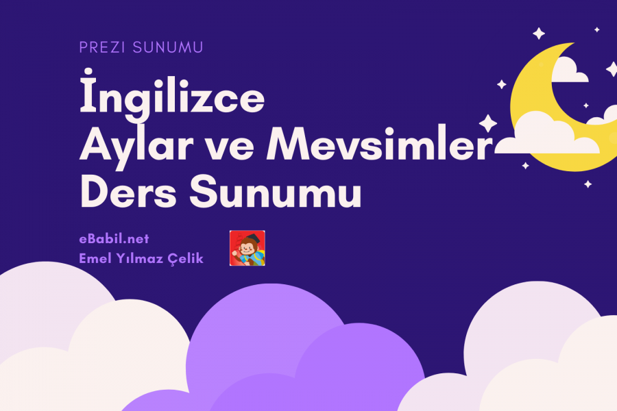 Ders Sunumu: İngilizce Aylar ve Mevsimler (Months and Seasons)
