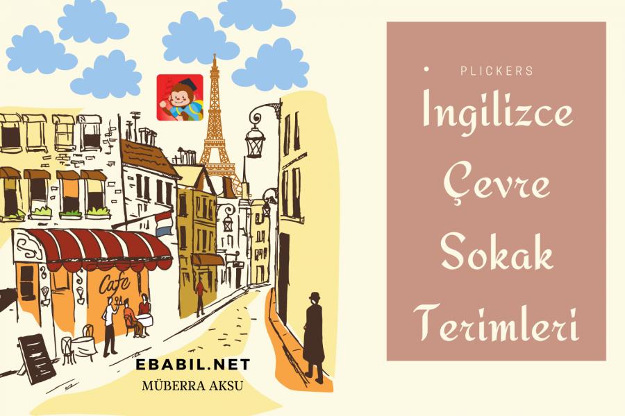 Kelime Oyunu (Plickers): İngilizce Çevre, Sokak Terimleri (Street Slang)