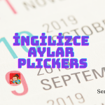 Kelime Oyunu (Plickers): İngilizce Aylar (Months)