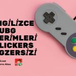 İngilizce Kelime Oyunu (Plickers): PUBG Oyun Terimleri (Game Phrases Pub-G)