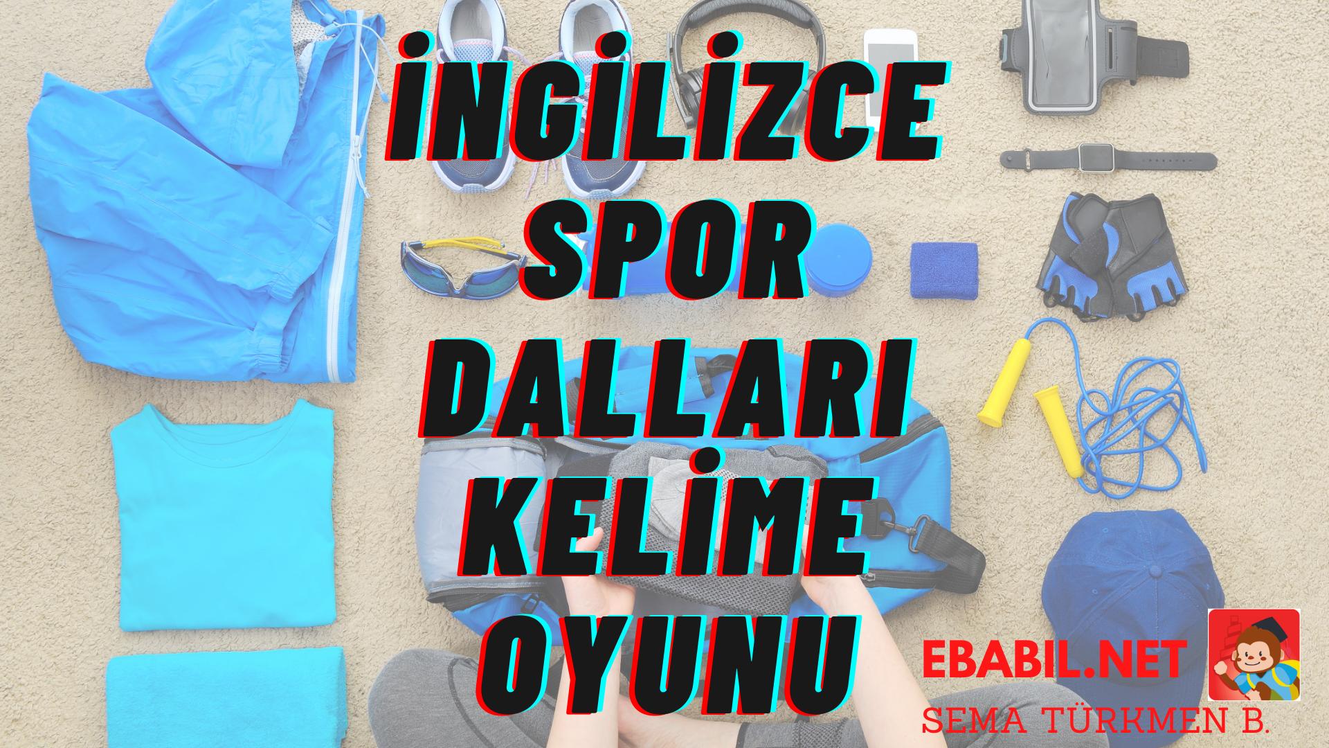 Kelime Oyunu: İngilizce Spor Dalları (Sports)