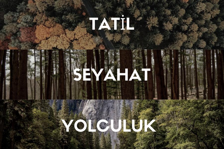 Kelime Oyunu: İngilizce Tatil Terimleri (Vacation Phrases)