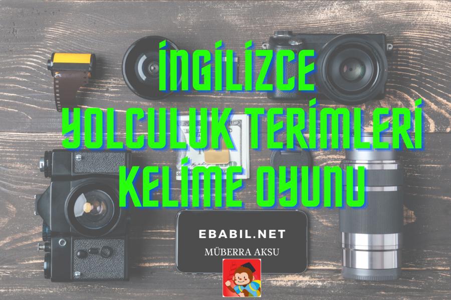 Kelime Oyunu (Quizizz): İngilizce Yolculuk Terimleri (Travelling Phrases)