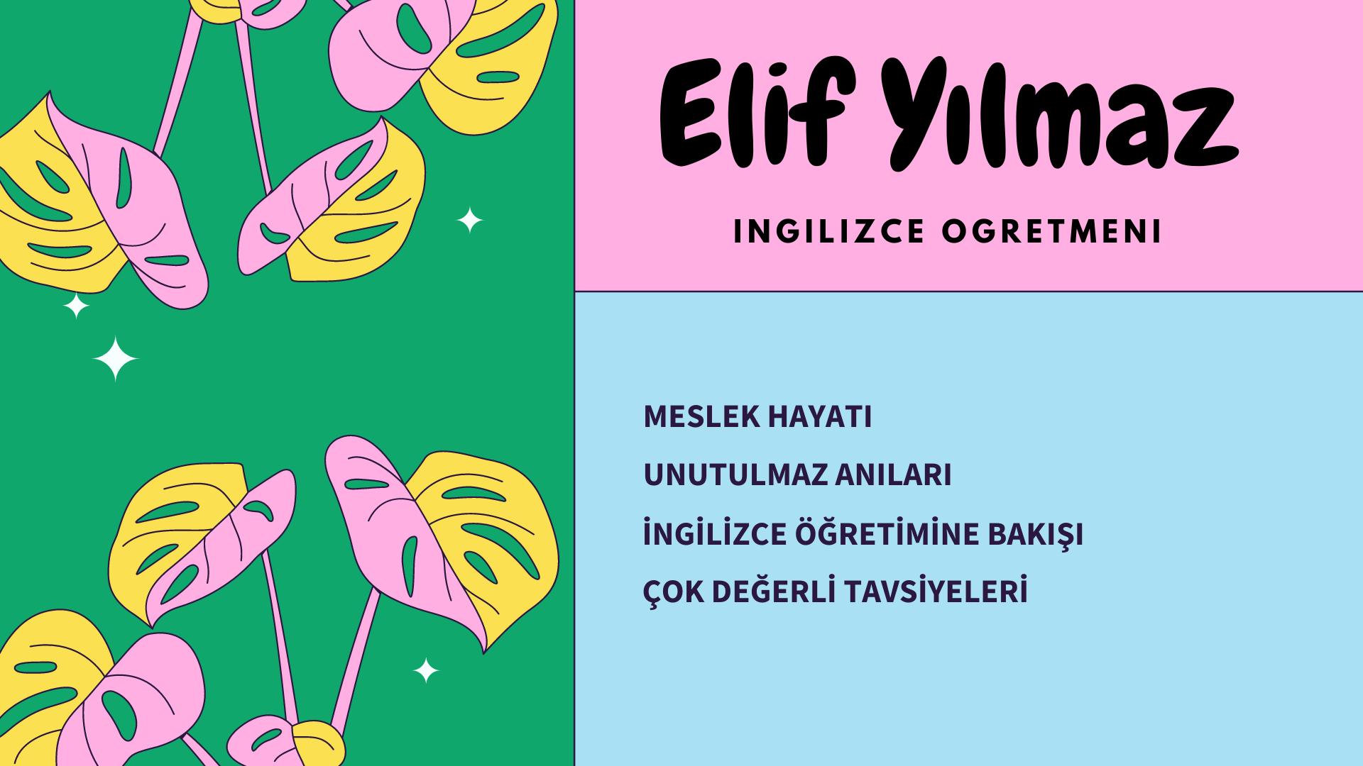 eBabil Yazarlarıyla Röportaj Serisi 1. Bölüm: ELİF YILMAZ