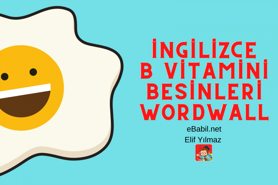 İngilizce B Vitamini Besinleri Wordwall Oyunları