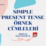 Simple Present Tense Örnek Cümleler (İngilizce Geniş Zaman)