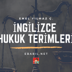 İngilizce Hukuk Terimleri Wordwall Alıştırmaları (Law Terms)