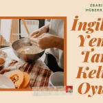 İngilizce Yemek Tarifi Kelime Oyunu (Instruction Words for Recipes)