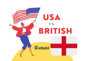 amerikan ingilizcesi ve ingiliz ingilizcesi