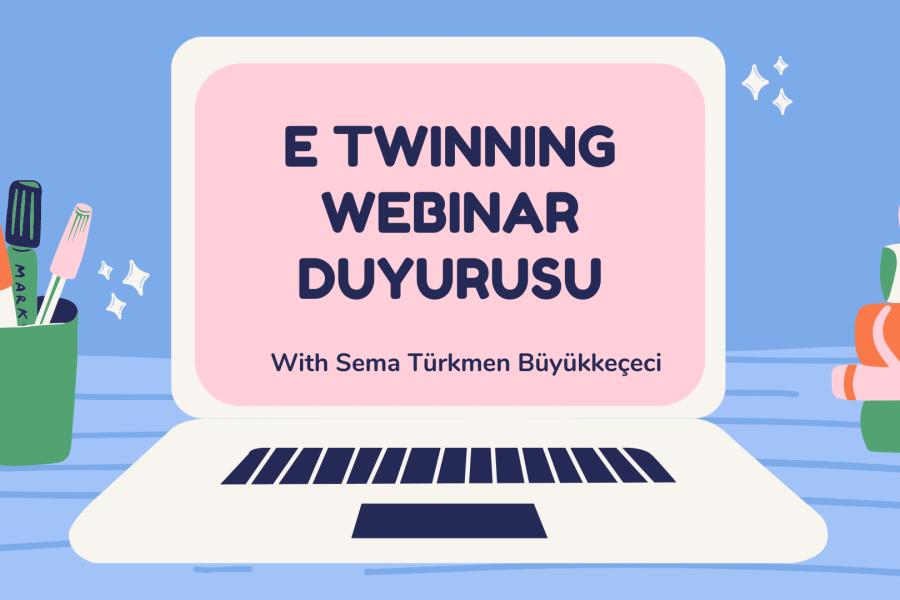 eTwinning Webinar Duyurusu