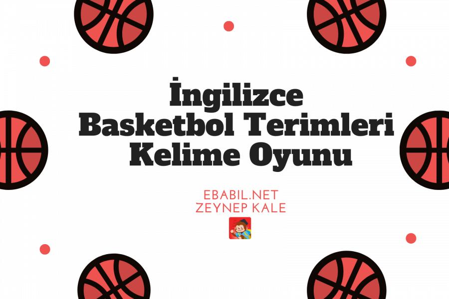 İngilizce Basketbol Terimleri Kelime Oyunu
