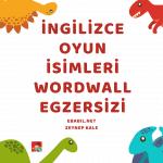 İngilizce Oyun İsimleri ve Hobiler (Games and Hobbies)