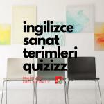 Resimlerle İlgili İngilizce Kelime Oyunu (Art Terms)