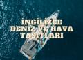 ingilizce deniz araçları ebabil.net