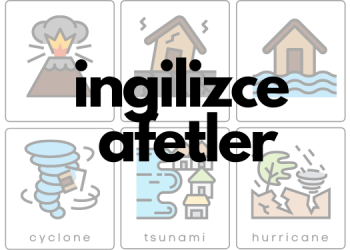 ingilizce doğal afetler ebabil.net