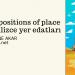 Prepositions Of Place (İngilizce Yer Bildiren Kelimeler - Yer Edatları)